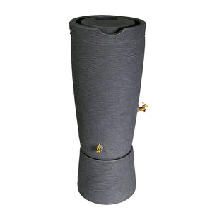 Impressions Stone 50 Gallon Rain Saver and Stand
