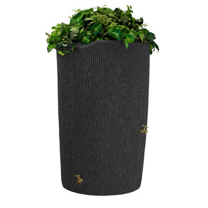 Impressions Bark 90 Gallon Rain Saver Dark Granite