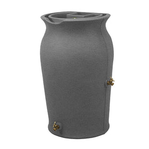 Impressions Amphora 50 Gallon Rain Saver Dark Granite