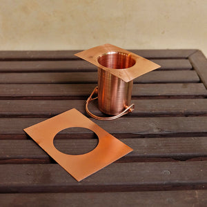 Copper Installation Kit disassembled