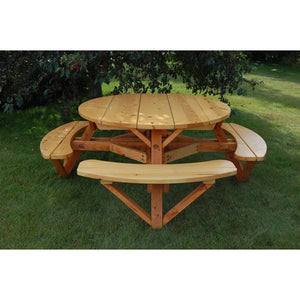 "56"" Round Picnic Table"