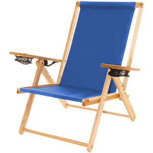 The Outer Banks Chair in atlantic blue