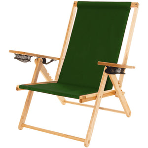 The Outer Banks Chair in forest green