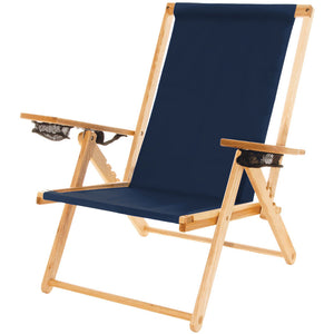 The Outer Banks Chair in navy blue