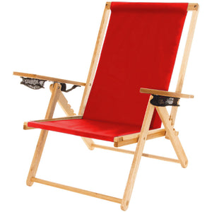 The Outer Banks Chair in red
