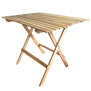 Wooden Pisgah Forest Folding Table