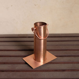 copper long installation kit with D-clip