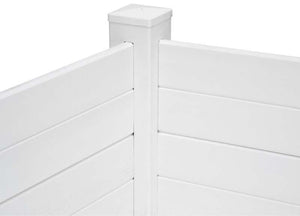 Garden Wizard Classic White Raised Bed Garden