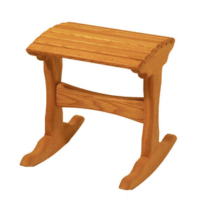 White Oak Foot Rocker
