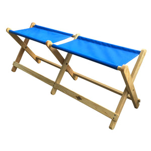 Foldable Voyager Bench in atlantic blue