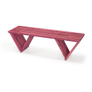 XQuare Wooden Bench X60 Gooseberry