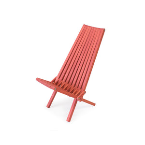 XQuare Wooden Folding Chair X45 Copper Henna