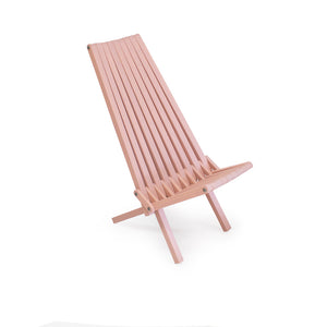 XQuare Wooden Folding Chair X45 Dusty Rose