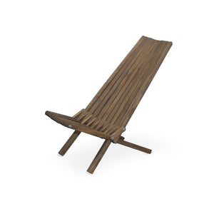 XQuare Wooden Folding Chair X45 Espresso Brown