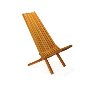 XQuare Wooden Folding Chair X45 Light Brown