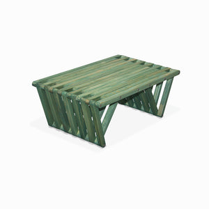 XQuare Wooden Coffee Table X36 Alligator Green