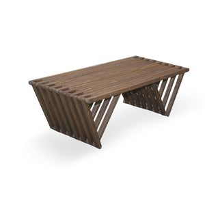 XQuare Wooden Coffee Table X90 Espresso Brown
