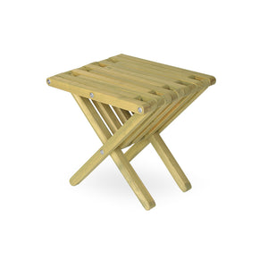 XQuare Wooden End Table X36 Avocado