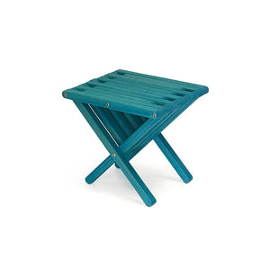XQuare Wooden End Table X36 Gypsy Teal
