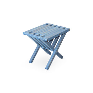 XQuare Wooden End Table X36 Sky Blue