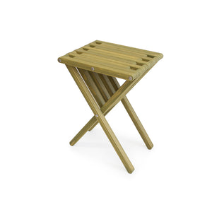 XQuare Wooden End Table X45 Avocado