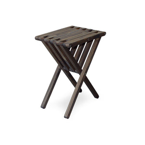 XQuare Wooden End Table X45 Espresso Brown
