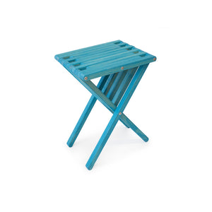 XQuare Wooden End Table X45 Gypsy Teal