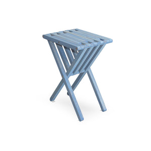 XQuare Wooden End Table X45 Sky Blue