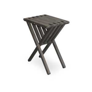 XQuare Wooden End Table X45 Wild Black
