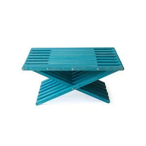 XQuare Wooden Living Table X45 Gypsy Teal