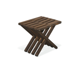 XQuare Wooden Stool X30 Espresso Brown