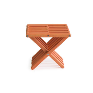 XQuare Wooden Stool X30 Muted Mesa