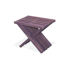 XQuare Wooden Stool X30 Purple Berry