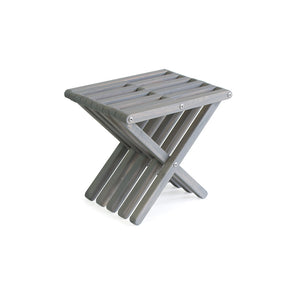 XQuare Wooden Stool X30 Phoenix Fossil