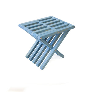XQuare Wooden Stool X30 Sky Blue