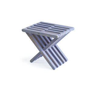 XQuare Wooden Stool X30 Stormy Skies