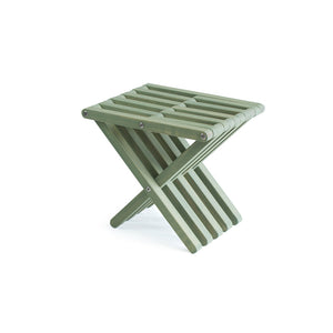 XQuare Wooden Stool X30 Woodland Green