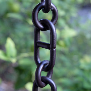 Bronze Aluminum Anchor Rain Chain