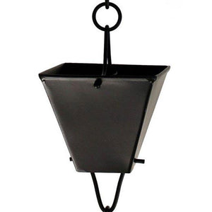 Extra Large Black Square Cups Rain Chain