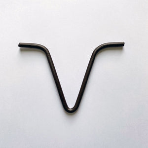 Bronze installation v-hook