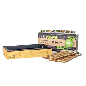 Hamama Microgreen Kit with seed quilts