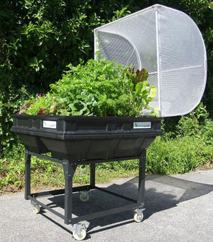 Medium Vegepod with trolley stand
