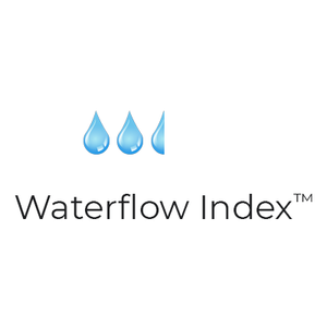 Water flow index