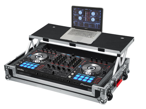 Road Case for Pioneer DDJ-RX/SX/SX2 Controller with Sliding Laptop Platform