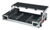 Road Case for Numark NS7II Controller with Sliding Laptop Platform