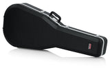 Gator Deluxe Molded Case for 12-String Dreadnought Guitars - Rugged Hard Cases