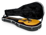 Gator Deluxe Molded Case for Dreadnought Guitars - Rugged Hard Cases