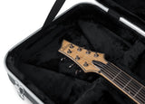 Gator Deluxe Molded Case for Electric Guitars; Extra Long - Rugged Hard Cases