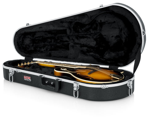 Gator Deluxe Molded Case for Both A and F Style Mandolins - Rugged Hard Cases