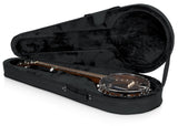 Gator Rigid EPS Polyfoam Lightweight Case for Banjos - Rugged Hard Cases